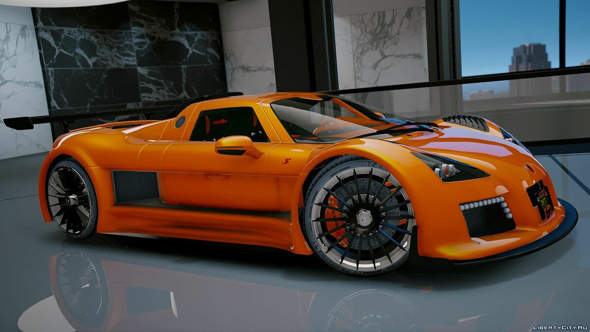Машина Gumpert Gumpert Apollo S [Add-On] 2.1 для GTA 5