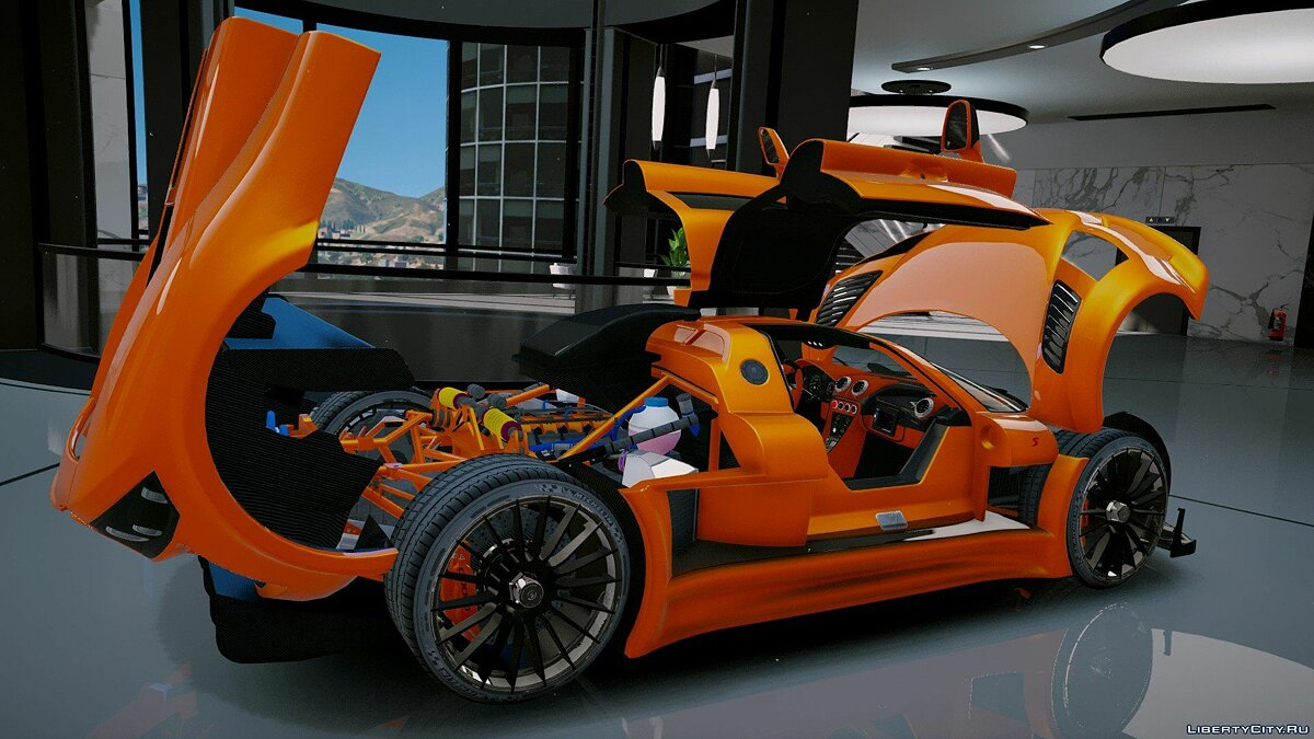 Gumpert Apollo S [Add-On] 2.1 для GTA 5 - скриншот #6