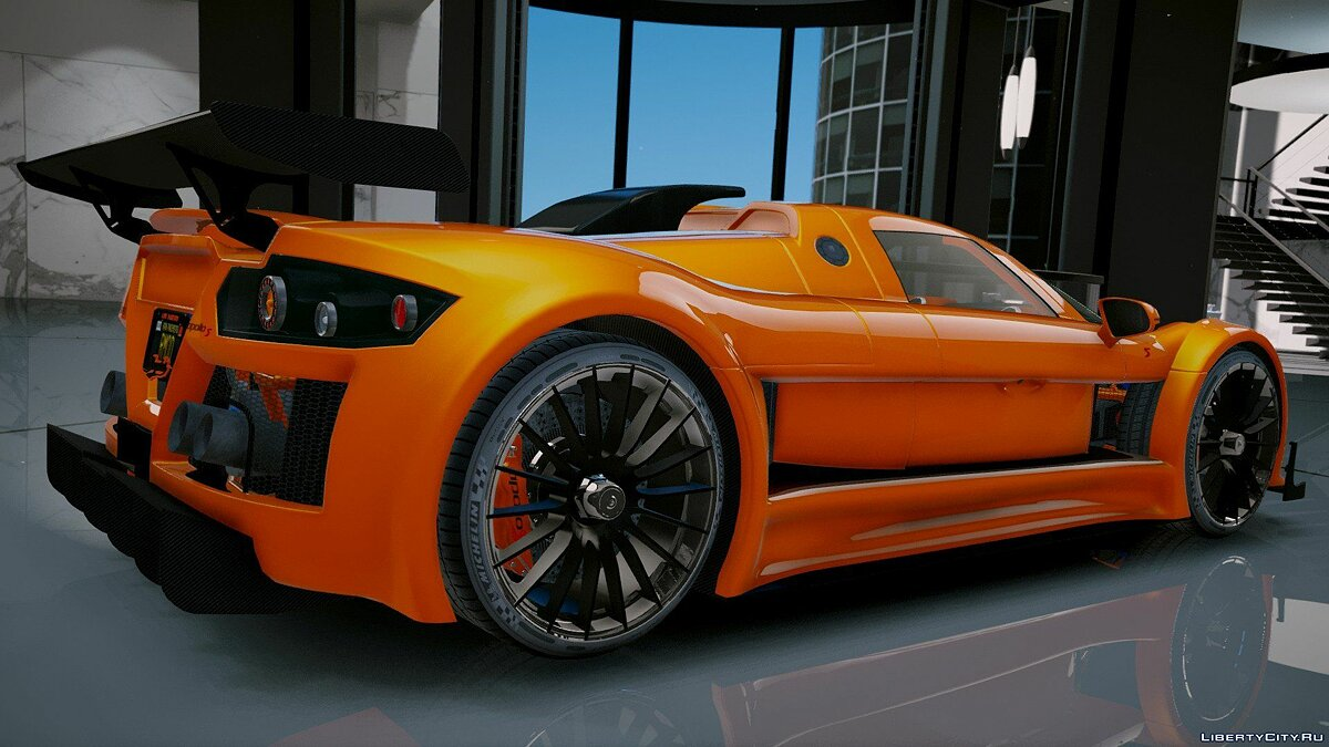 Gumpert Apollo S [Add-On] 2.1 для GTA 5 - скриншот #7