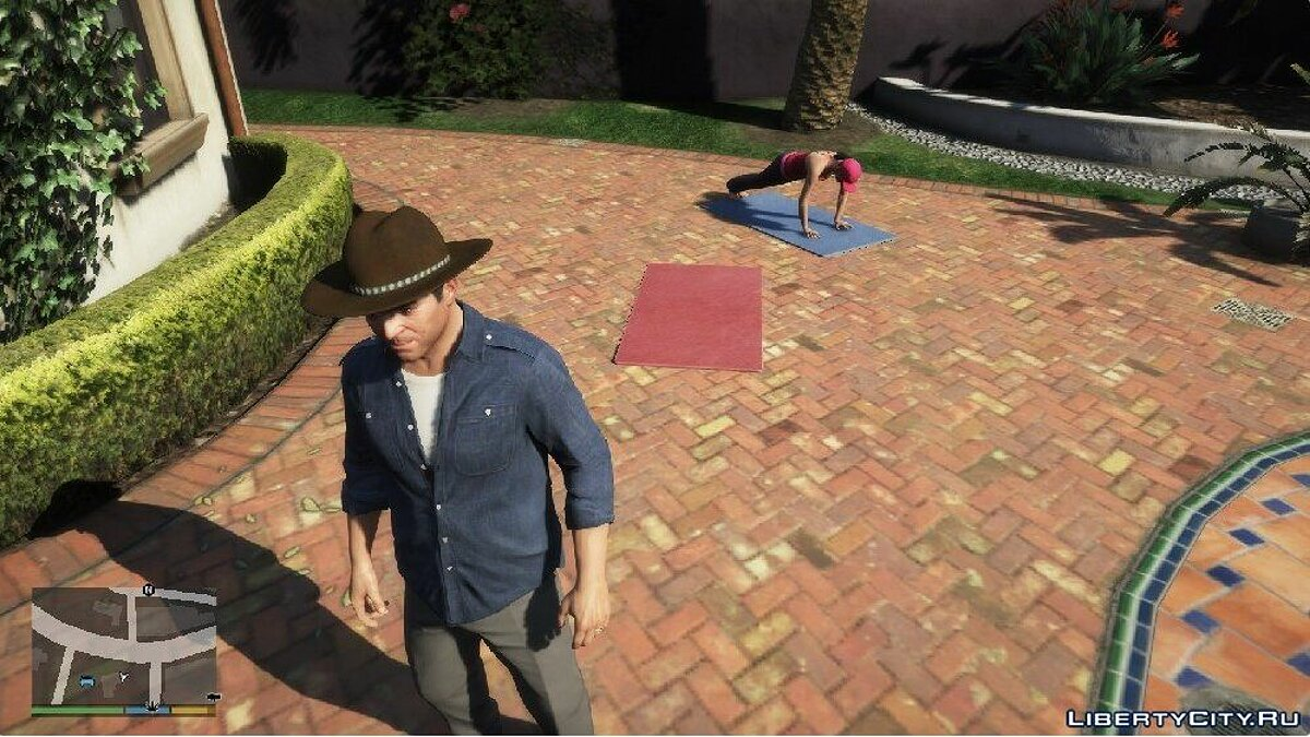 Шапка Cowboy Hat for Michael Franklin and Trevor для GTA 5