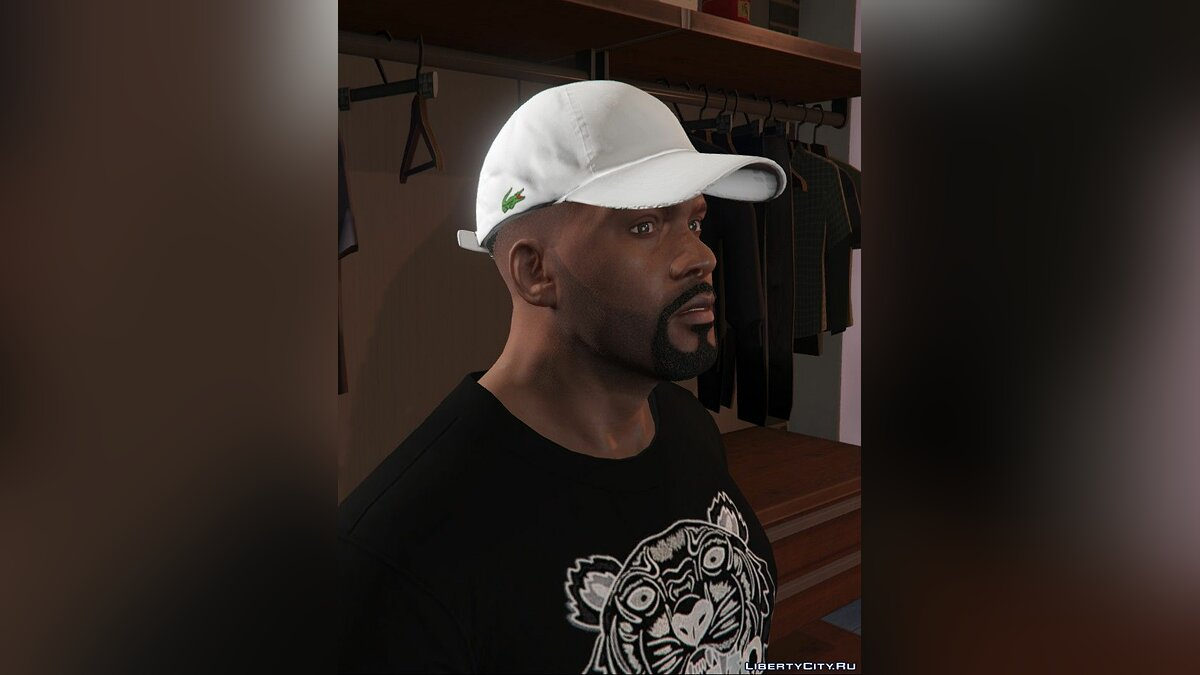 Шапка Lacoste Strapbacks For Franklin 1.0 для GTA 5