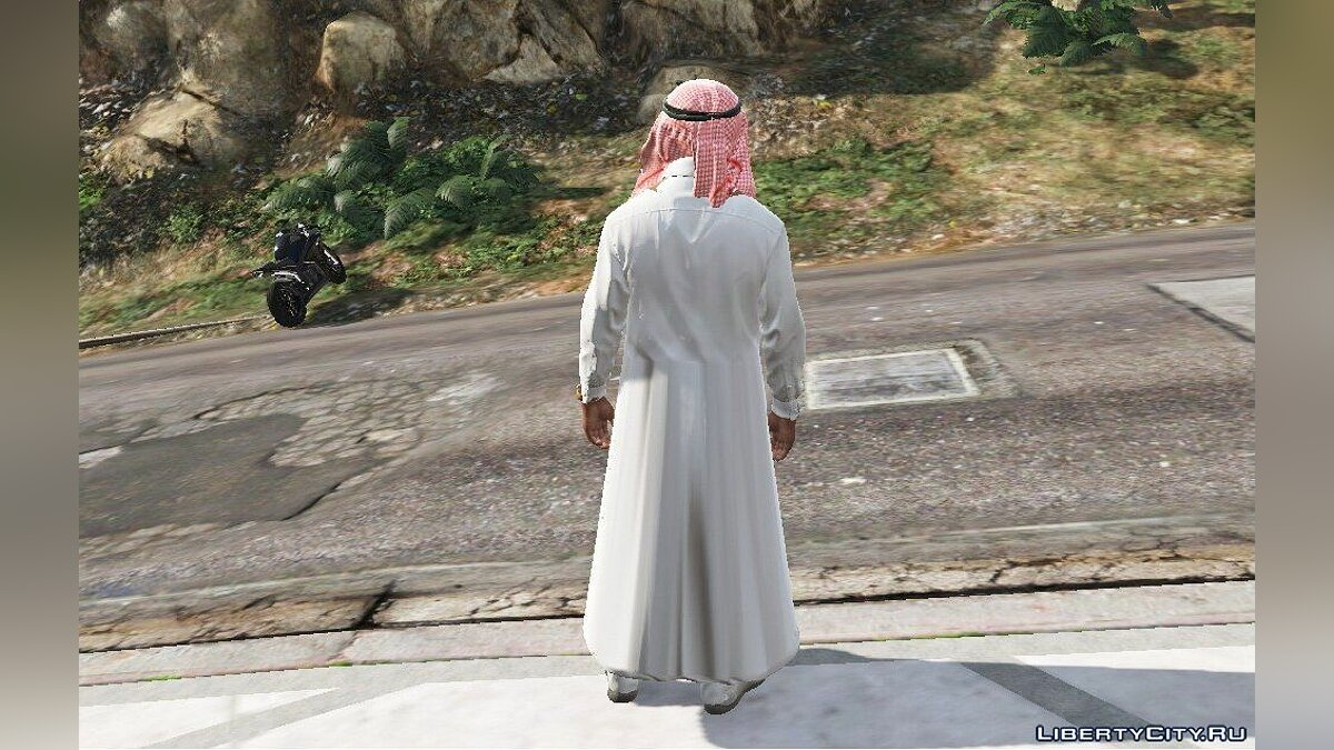 Шапка Franklin Arabic Clothes для GTA 5