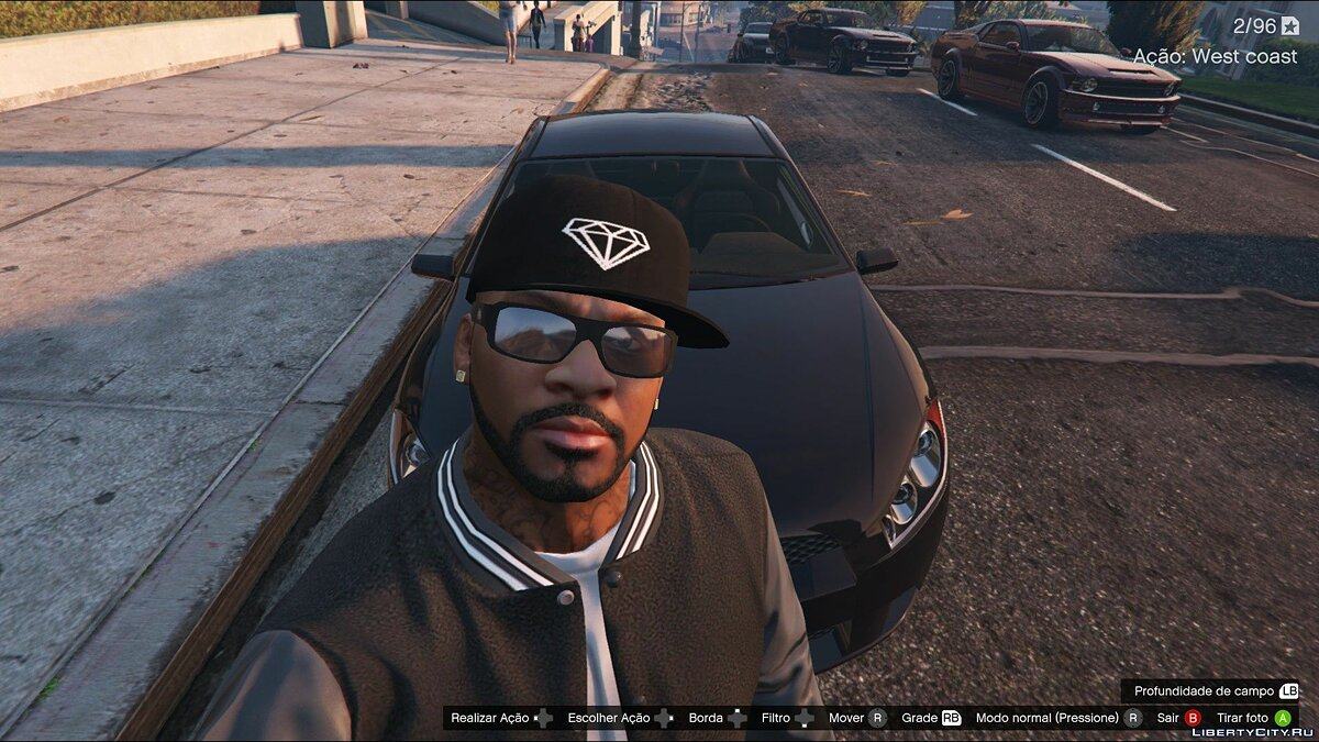 Шапка Diamond Cap for Franklin 1.0 для GTA 5