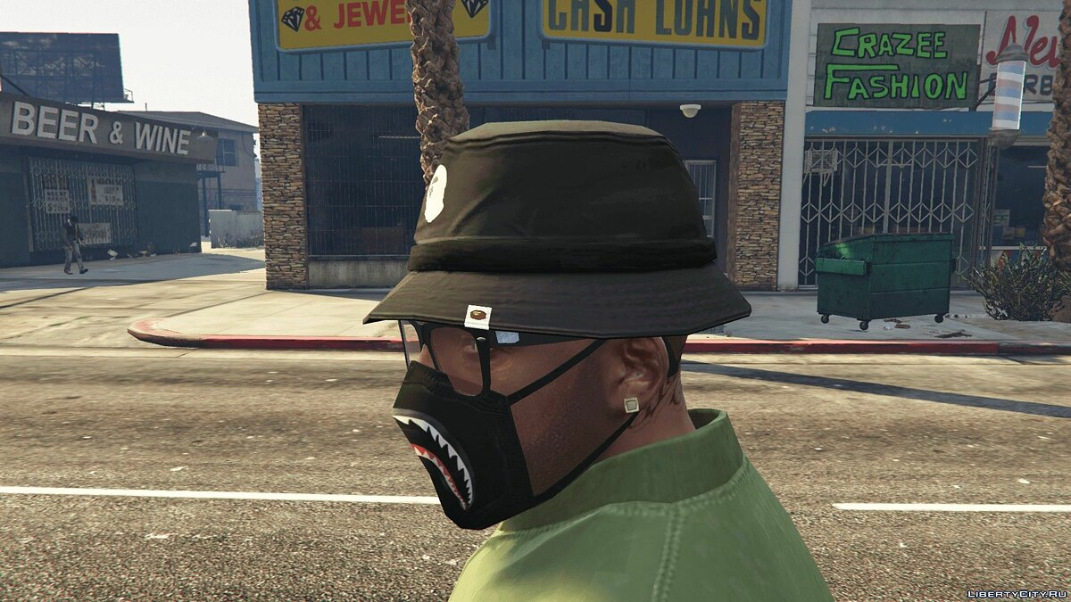 Шапка Bathing Ape (BAPE) Bucket Hat 0.0 для GTA 5