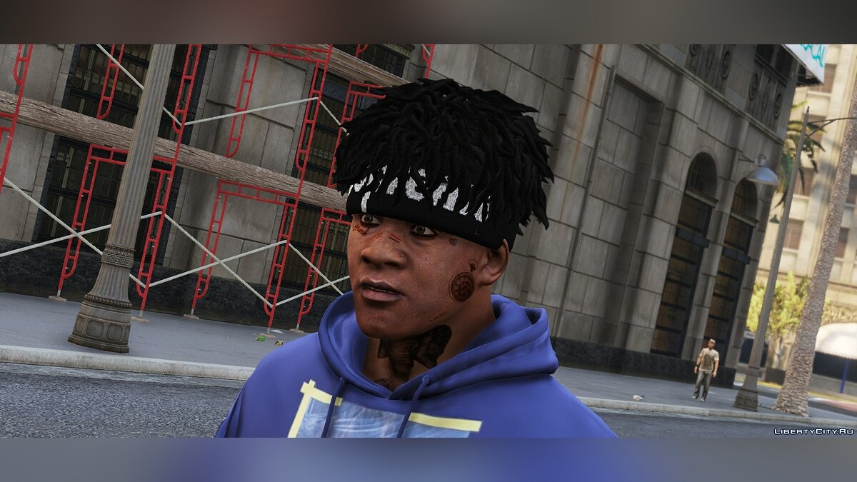 Шапка Банданы для Франклина SUPREME X NEW ERA для GTA 5