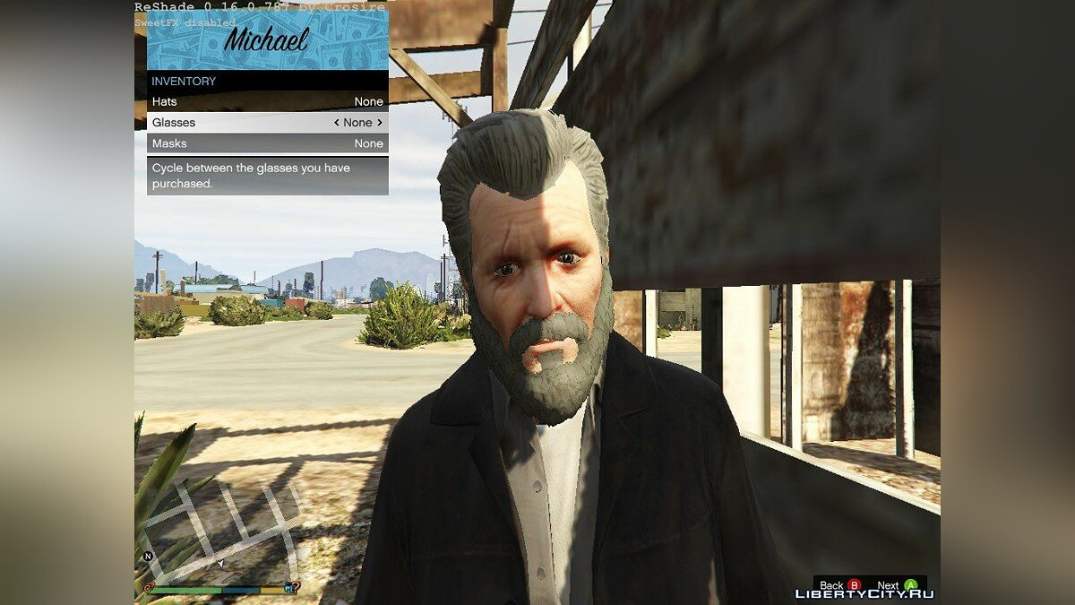 Oldschool Michael Townley для GTA 5