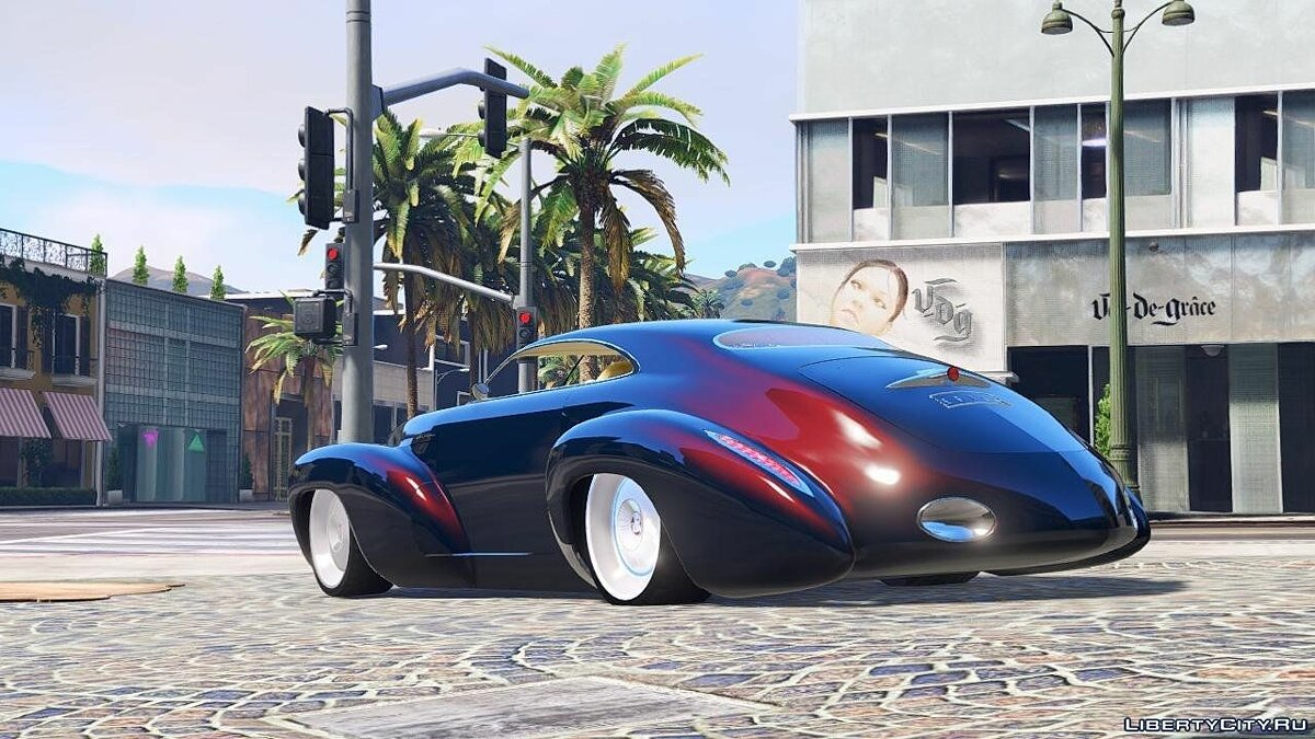 Машина Holden Holden Efijy [Add-On / Replace] 1.0 для GTA 5