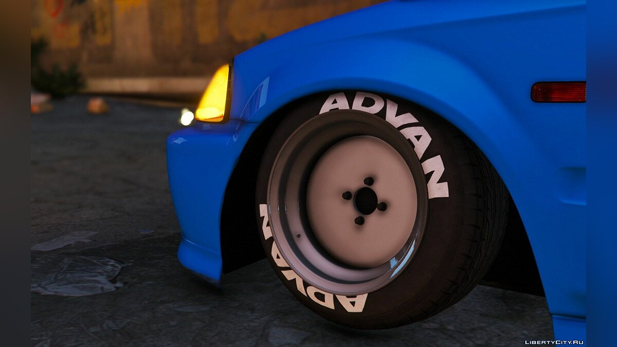 Honda Civic EK9 Stance Edition [Tuning | Template] 1.1 для GTA 5 - скриншот #7