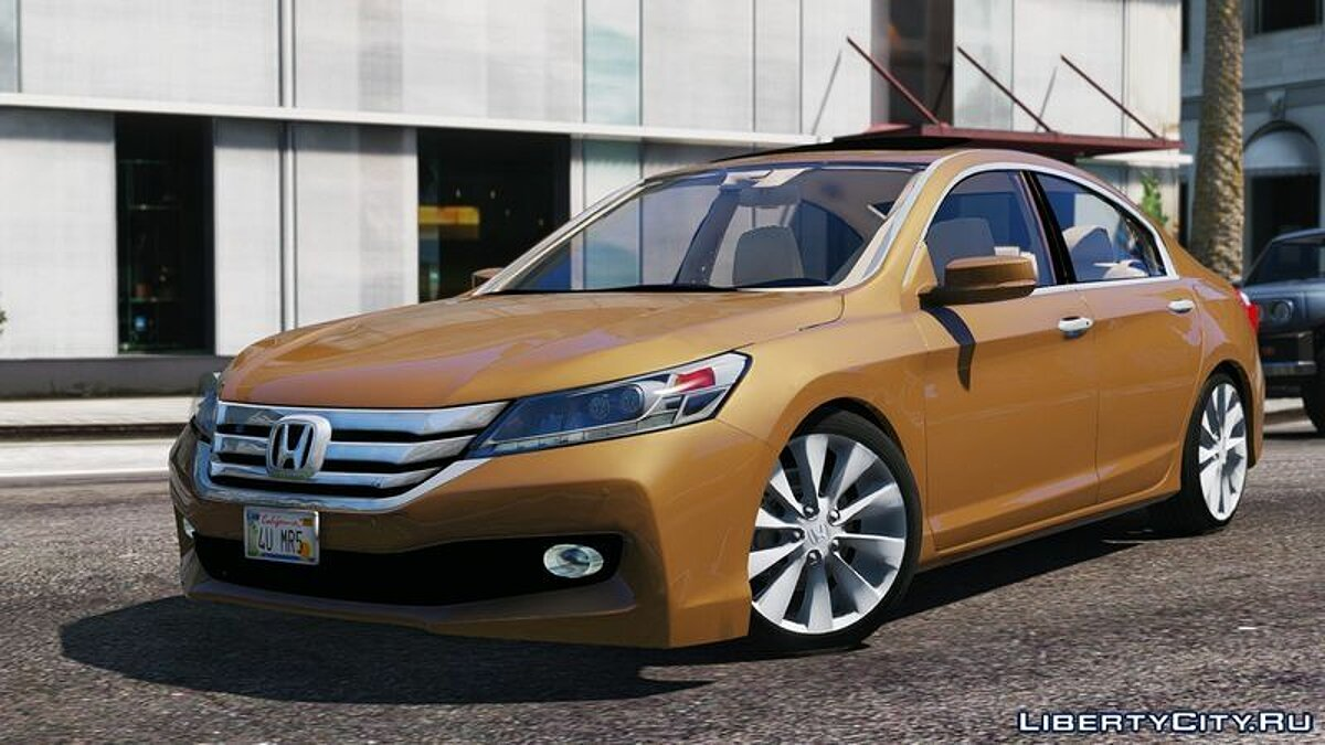 2015 Honda Accord для GTA 5 - скриншот #4