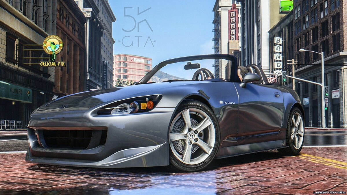 Honda S2000 AP2 [Add-On] 1.0 для GTA 5 - скриншот #3