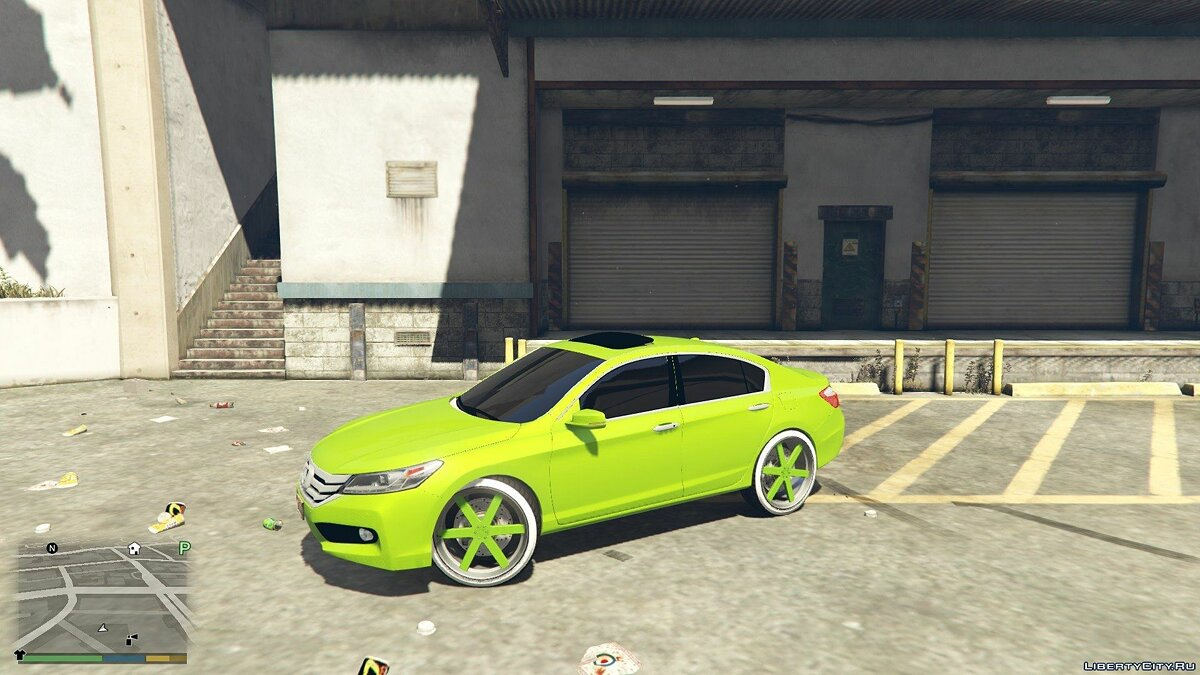 2015 Honda Accord DUB 1.0 для GTA 5 - скриншот #6