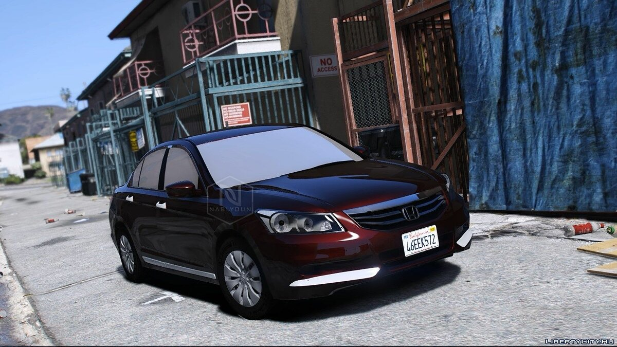 Машина Honda Accord 2012 Standard v1.0 для GTA 5