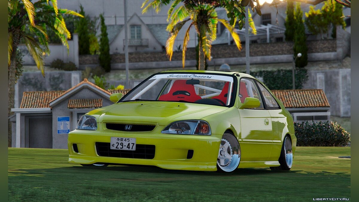 Машина Honda Honda Civic EM1 Coupe Si [Replace] 1.1 для GTA 5