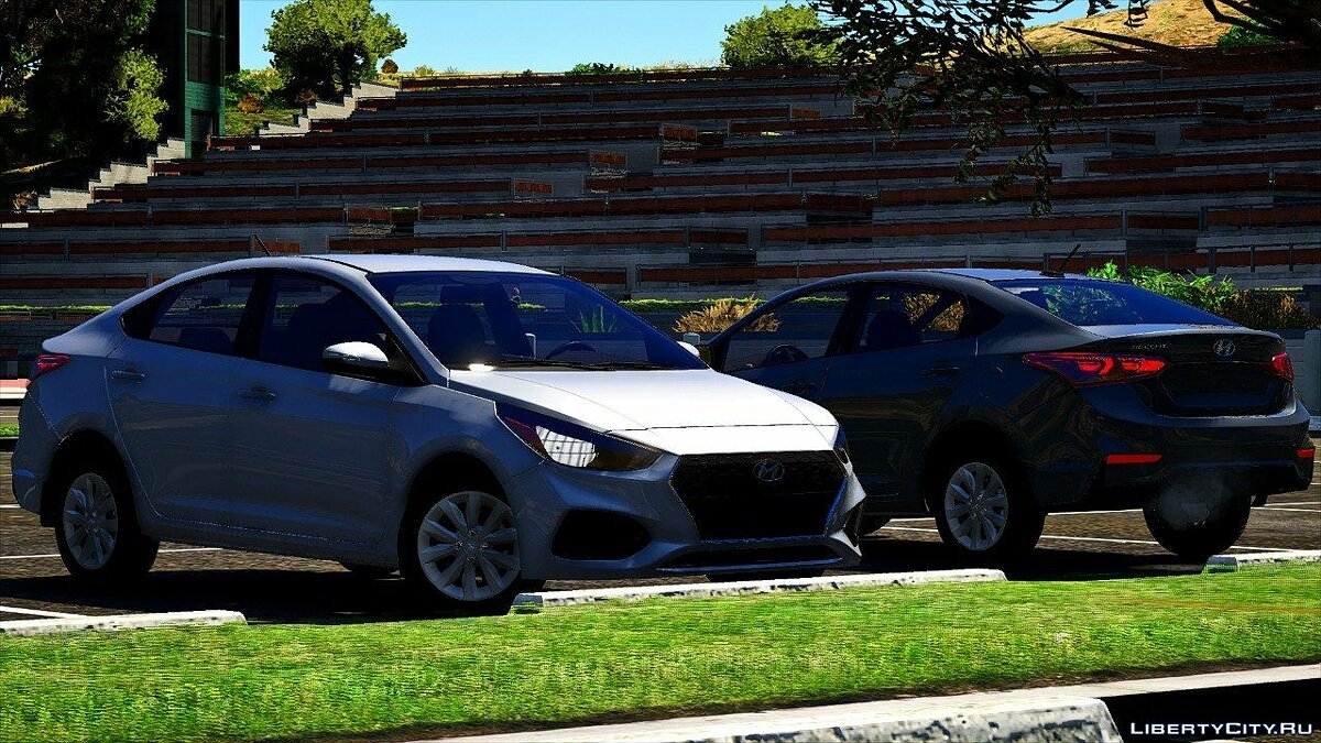 Машина Honda Hyundai Accent 2018 SE 3 Versions [REPLACE] 1.0 для GTA 5