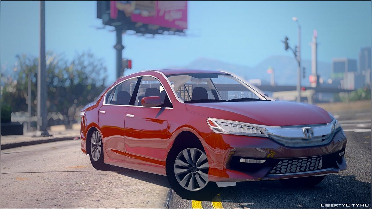 Honda Accord 2016 Astander [BETA] для GTA 5