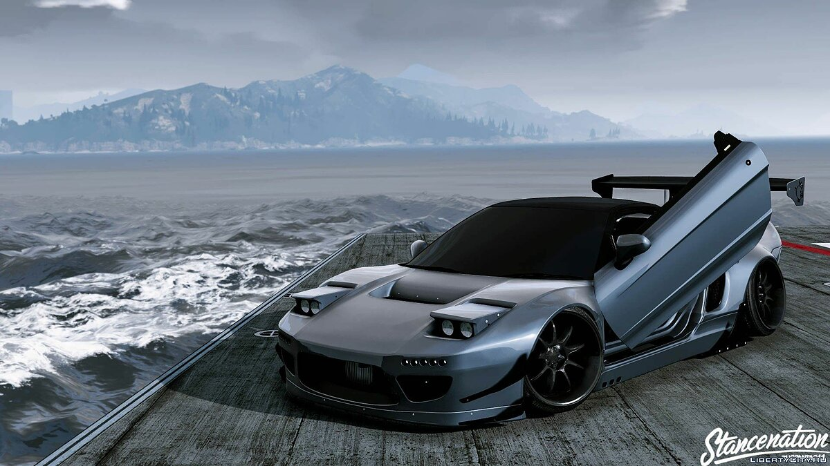 Honda Nsx Rocketbunny [ADDON-REPLACE-HQ] 1.0 для GTA 5 - скриншот #8