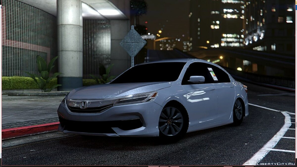 Honda Accord 2016 Standard [BETA] 1.0 для GTA 5