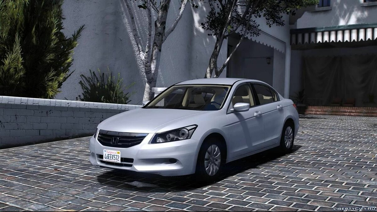 Машина Honda 2011 Honda Accord 1.0 для GTA 5