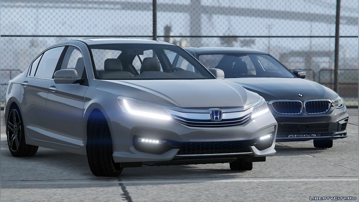 2017 Honda Accord V6 Touring Sedan [Replace] 1.0 для GTA 5