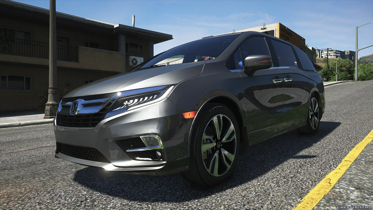 Машина Honda 2019 Honda Odyssey Elite [Replace/Add-On] 1.0 для GTA 5