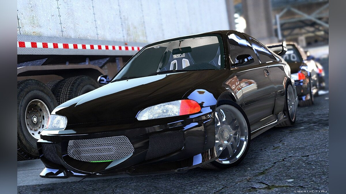 Машина Honda [Fast&Furious] 1993 Honda Civic EJ1 [Add-on] 1.0 для GTA 5