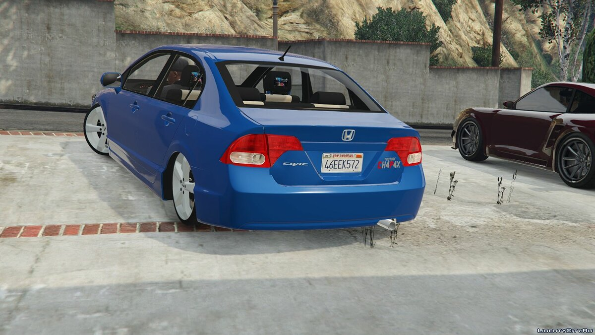 2010 Honda New Civic LXL 2.3 для GTA 5 - скриншот #3