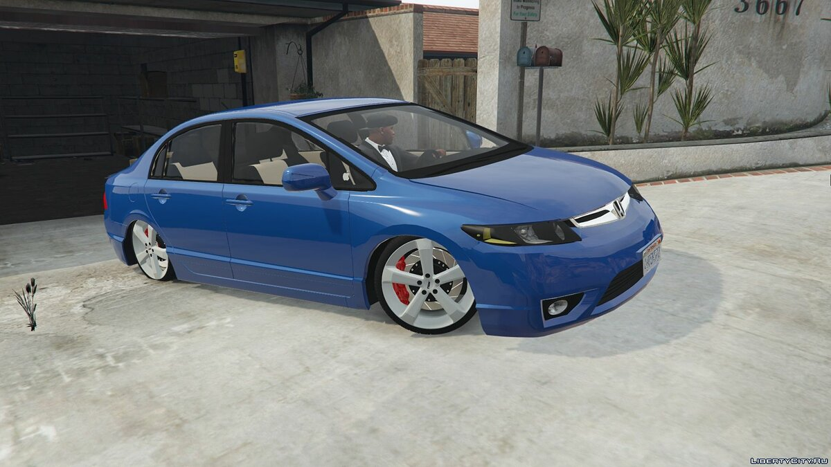 2010 Honda New Civic LXL 2.3 для GTA 5 - скриншот #5