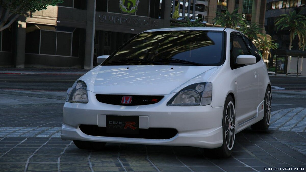 2004 Honda Civic Type-R (EP3) [Add-On | RHD | Mugen] для GTA 5 - скриншот #4