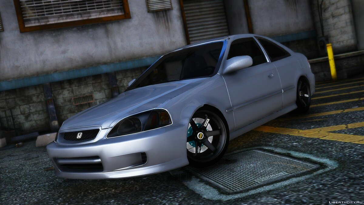 Машина Honda  Civic SI  1999 для GTA 5