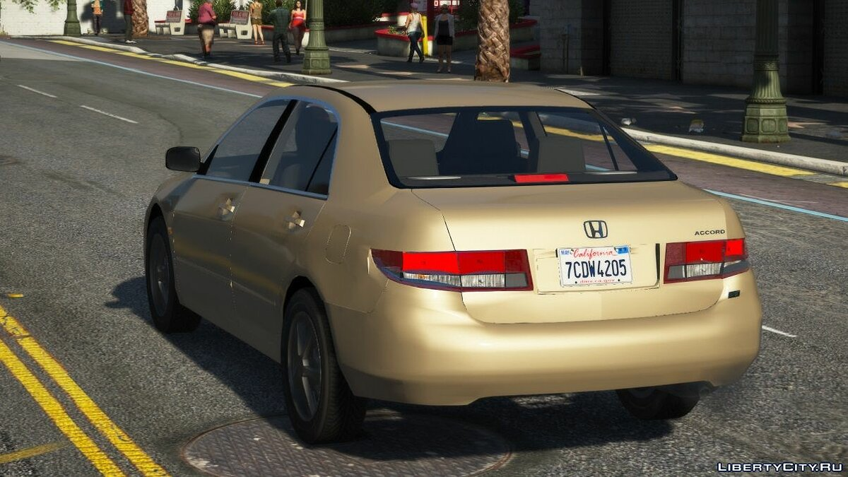 Машина Honda 2004 Honda Accord [Replace] 1.0 для GTA 5