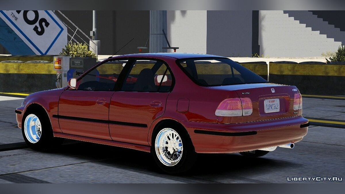 Машина Honda 1999 Honda Civic Sedan Drag Version |Five-M|Replace| 1.0 для GTA 5