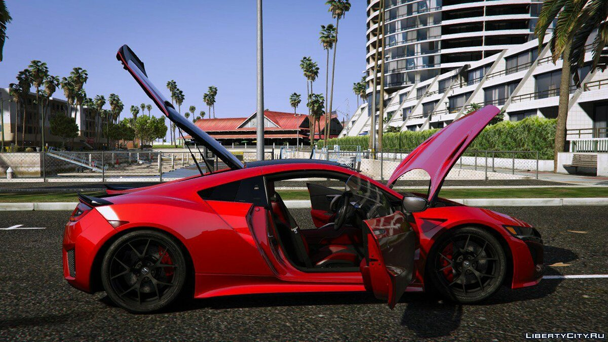 2016 Honda NSX (NC1) [Add-On] 1.1 для GTA 5 - скриншот #4