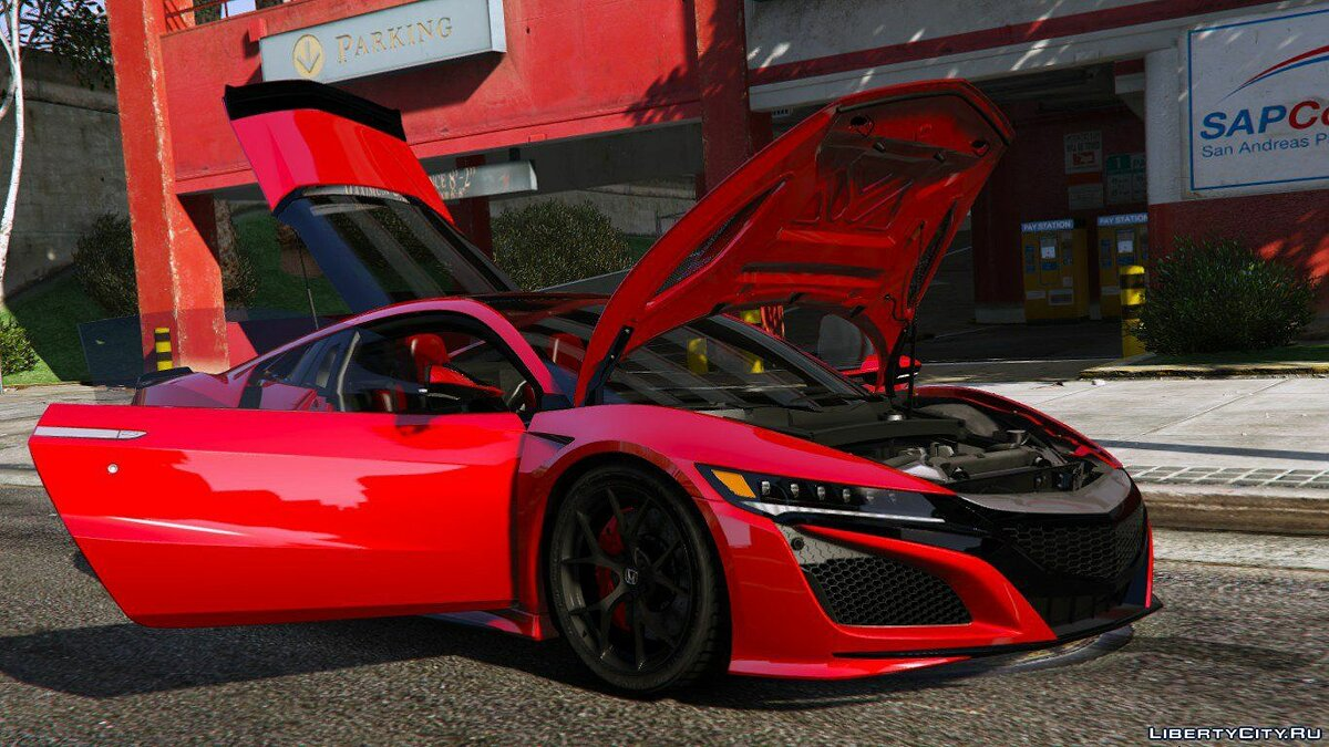 2016 Honda NSX (NC1) [Add-On] 1.1 для GTA 5 - скриншот #9