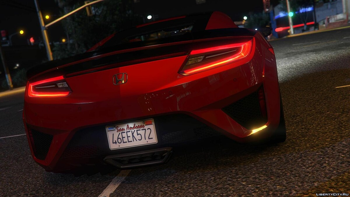 2016 Honda NSX (NC1) [Add-On] 1.1 для GTA 5 - скриншот #10