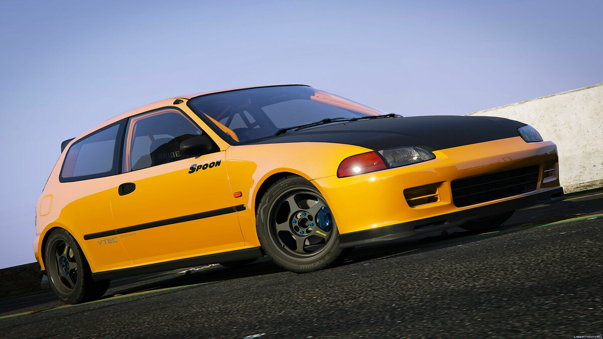 Spoon Sports Honda Civic SIR (EG6) [Add-On] 1.0 для GTA 5