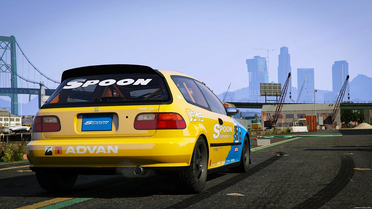 Spoon Sports Honda Civic SIR (EG6) [Add-On] 1.0 для GTA 5 - скриншот #5