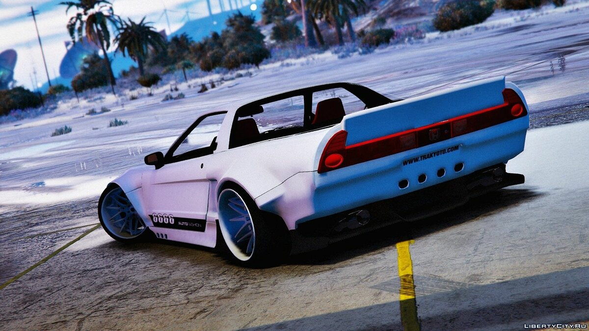Honda NSX Rocket Bunny [Add-On / Replace with Template] 1.1 для GTA 5 - скриншот #2