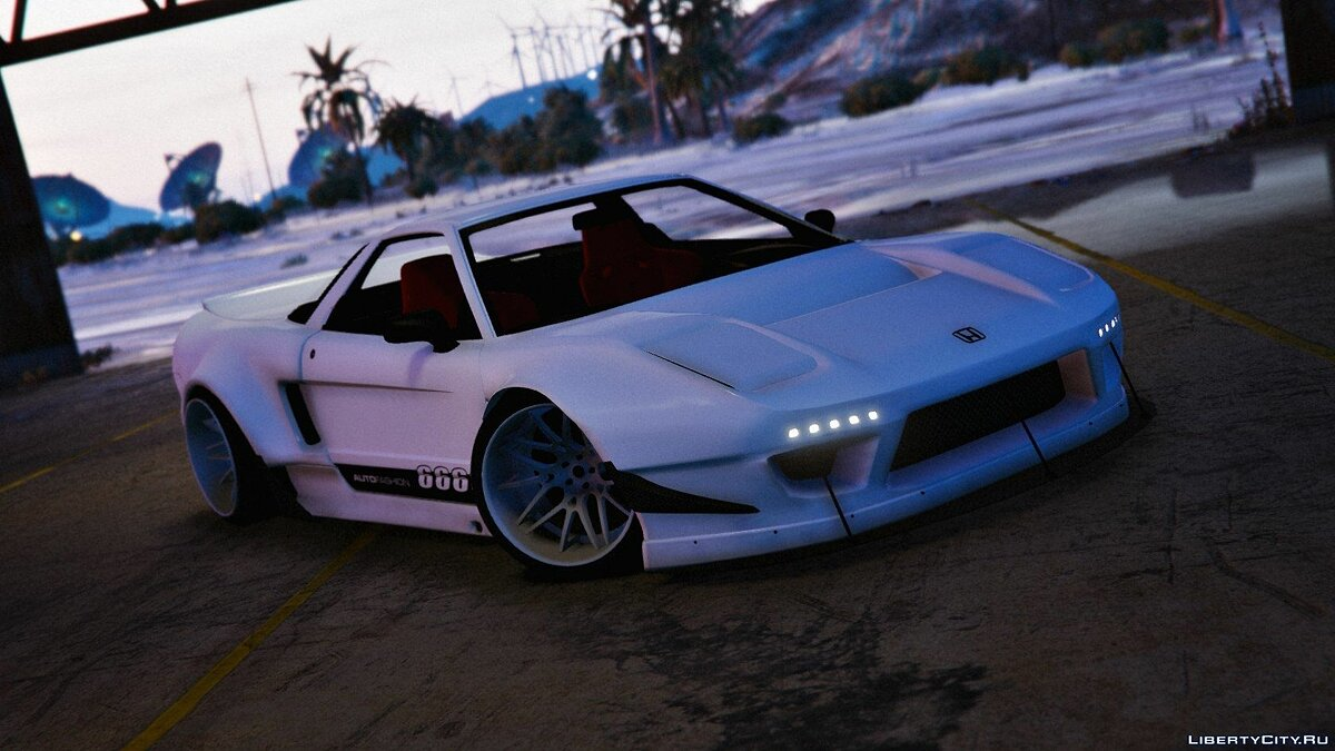 Honda NSX Rocket Bunny [Add-On / Replace with Template] 1.1 для GTA 5 - скриншот #6