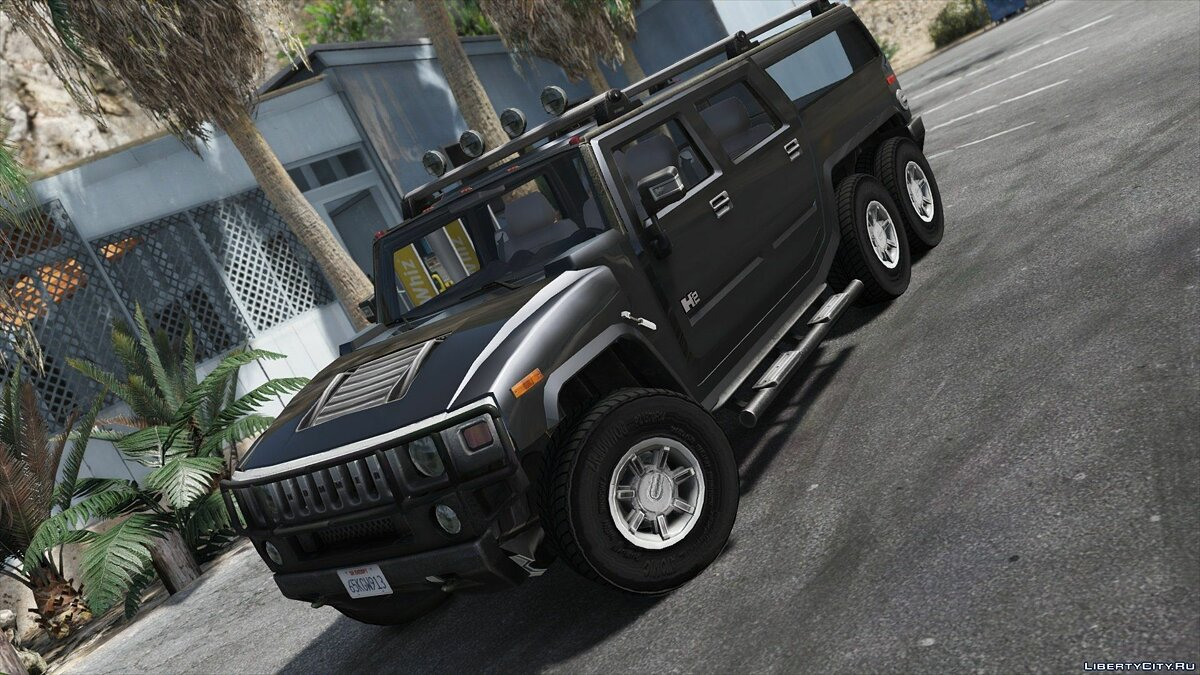 Hummer H6 [Add-On / Replace | Template] 3.0 для GTA 5 - скриншот #7