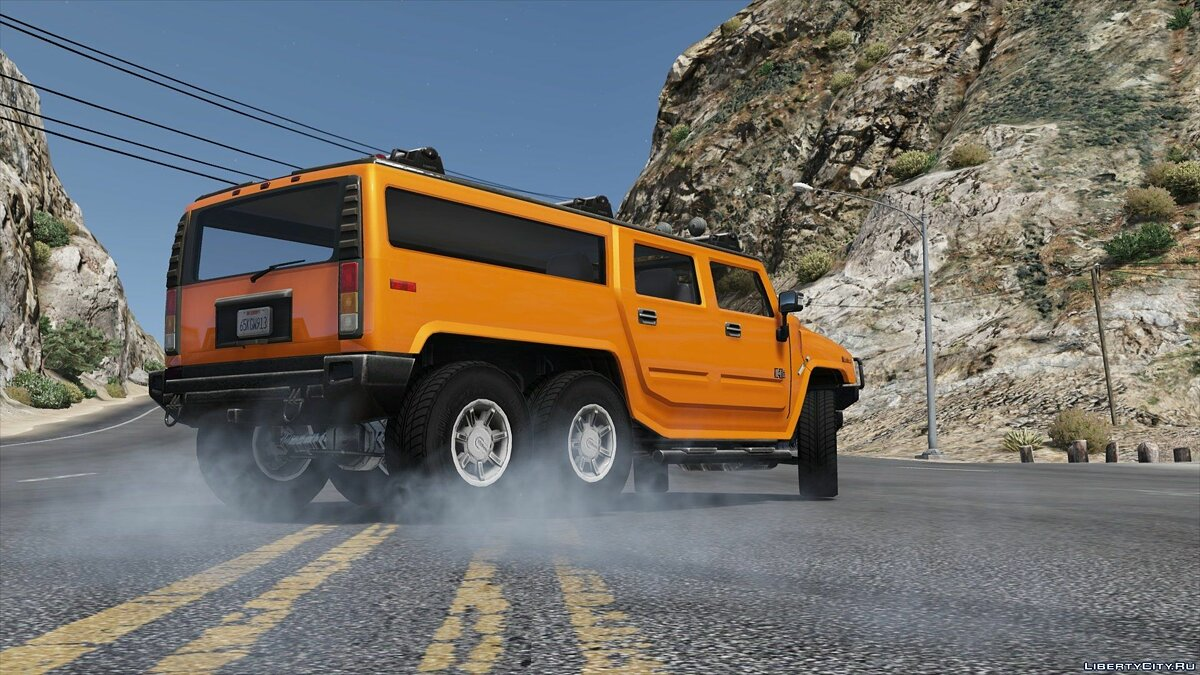 Hummer H6 [Add-On / Replace | Template] 3.0 для GTA 5 - скриншот #8