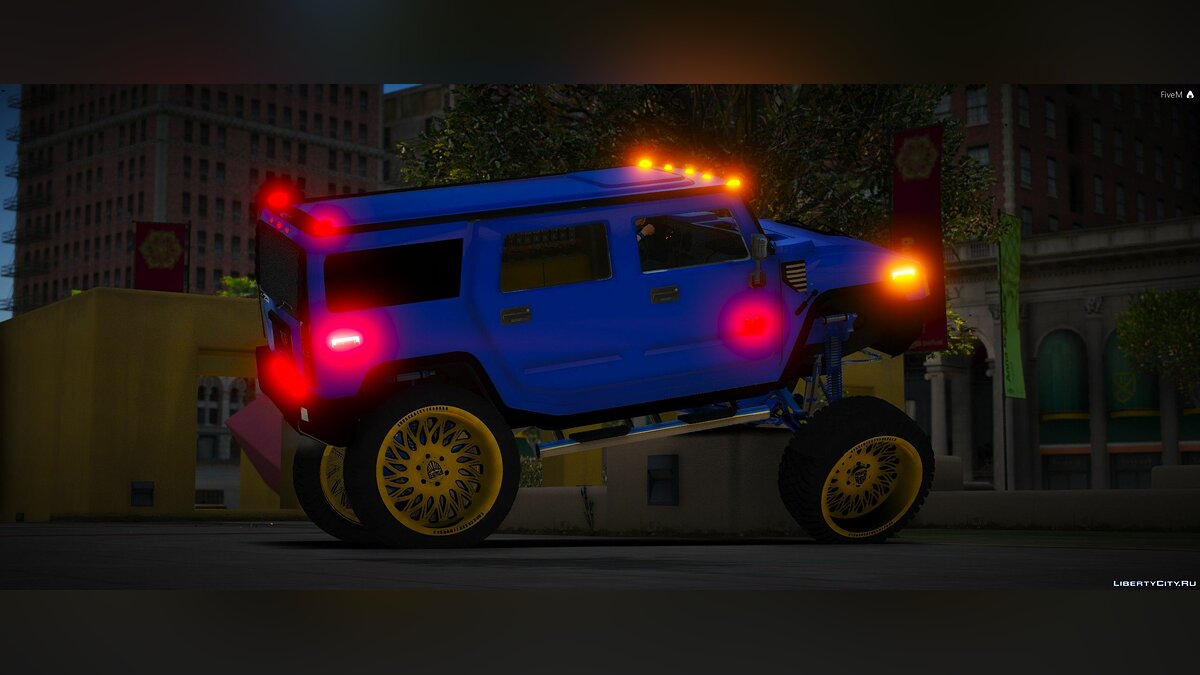 Машина Hummer Hummer H2 [Add-On | FiveM] 1.0 для GTA 5