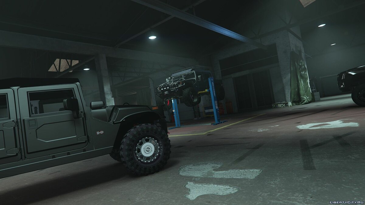 Машина Hummer H1 alpha open top [add-on | replace | fiveM] 1.0 для GTA 5