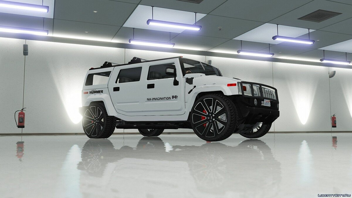 Машина Hummer Hummer H2 Modified [NiK] [Add-On / Replace] 1.0 для GTA 5