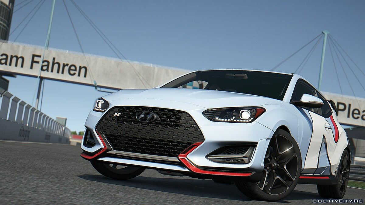 Машина Hyundai Hyundai Veloster N 2018 [Add-On | Template] 1.0 для GTA 5