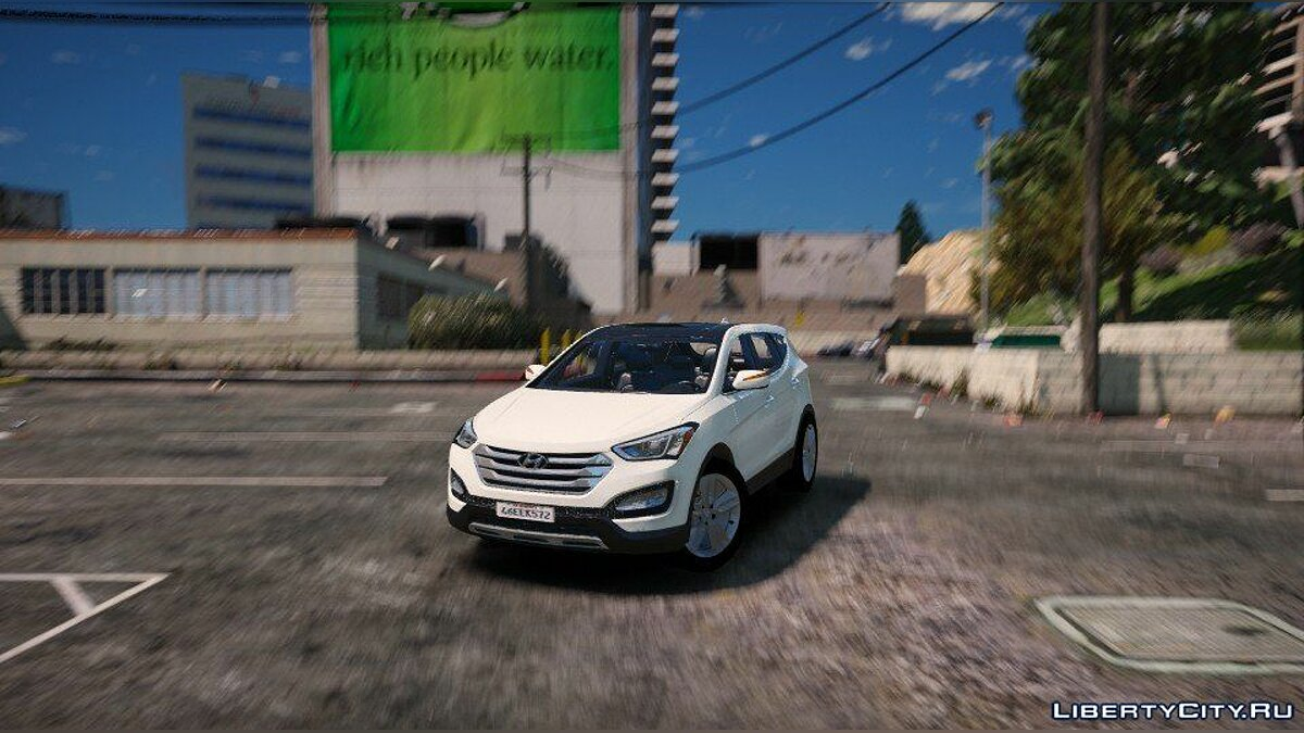 Hyundai Santa Fe 2013 [Add-On / Replace] 2.1 для GTA 5