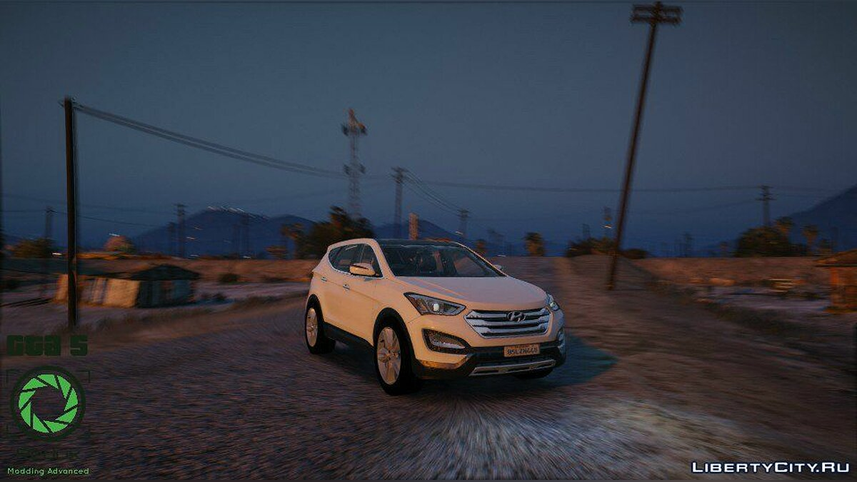 Hyundai Santa Fe 2013 [Add-On / Replace] 2.1 для GTA 5 - скриншот #3