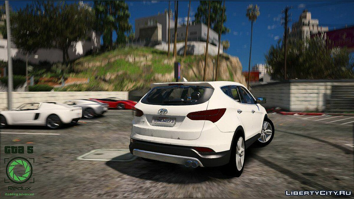 Hyundai Santa Fe 2013 [Add-On / Replace] 2.1 для GTA 5 - скриншот #5
