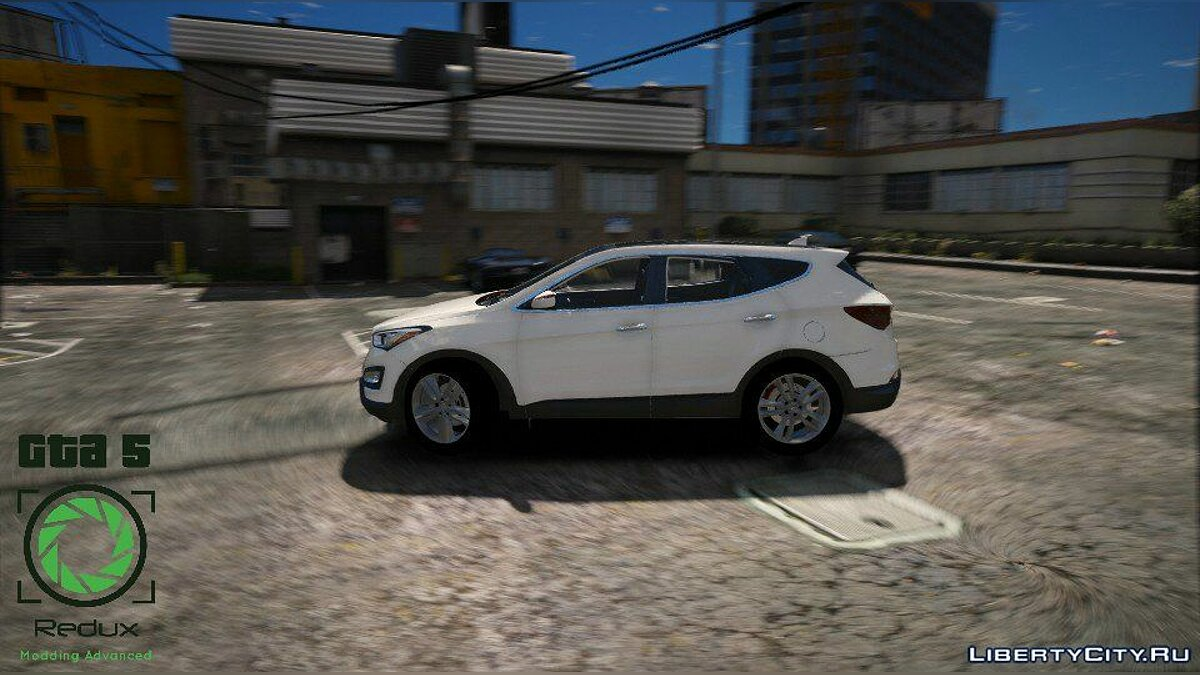 Hyundai Santa Fe 2013 [Add-On / Replace] 2.1 для GTA 5 - скриншот #6