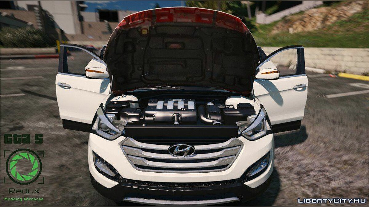 Hyundai Santa Fe 2013 [Add-On / Replace] 2.1 для GTA 5 - скриншот #10