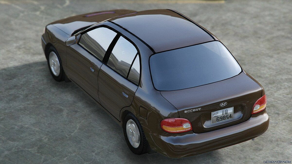 Машина Hyundai 1997 Hyundai Accent GLS [ADD-ON - REPLACE] 1.0 для GTA 5